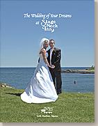 bride and groom stage neck inn york harbor maine beach wedding and reception